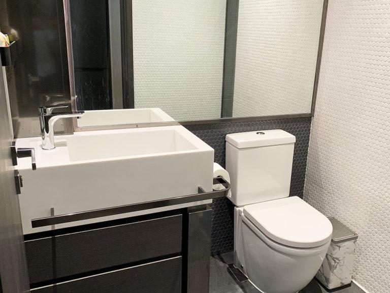 場地內的獨立洗手間照顧客戶如廁的體驗